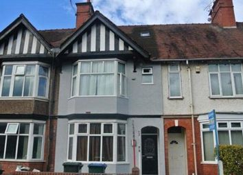 Thumbnail 1 bed terraced house to rent in St Patricks Road, City Centre, Coventry, West Midlands
