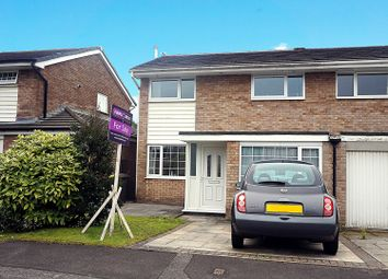 Thumbnail 3 bedroom semi-detached house for sale in Eskdale Close, Preston