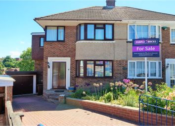 Thumbnail 4 bed semi-detached house for sale in Nickleby Close, Rochester