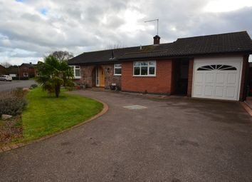 Thumbnail 2 bed detached bungalow to rent in Ervin Way, Queniborough, Leicestershire