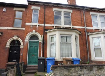 Thumbnail 4 bed town house for sale in Mount Carmel Street, Derby