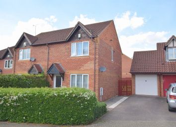 Thumbnail 3 bed semi-detached house for sale in Chalwell Ridge, Shenley Brook End, Milton Keynes