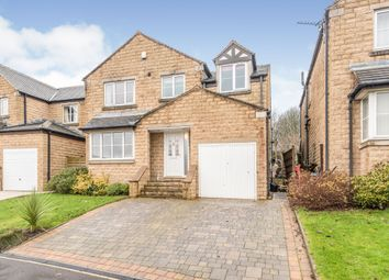 Thumbnail 5 bed detached house for sale in Upper Hall View, Northowram, Halifax
