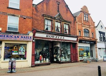 Thumbnail Retail premises for sale in 22 High Street, High Street, Long Eaton