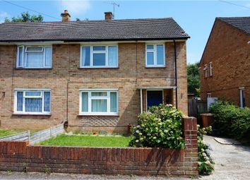 Thumbnail 3 bed semi-detached house for sale in Atherfield Road, Reigate