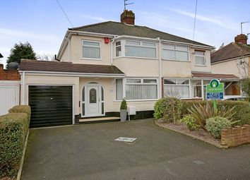 Thumbnail 3 bedroom semi-detached house for sale in Probert Road, Oxley, Wolverhampton