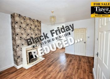 Thumbnail 2 bedroom terraced house for sale in Eastwood Avenue, Blackpool