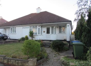 Thumbnail 3 bed semi-detached bungalow to rent in Woodhill Crescent, Harrow