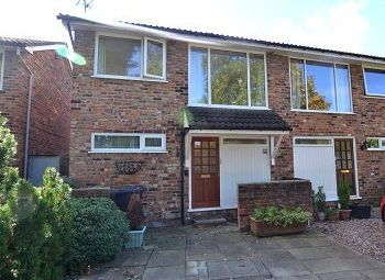 Thumbnail 3 bed semi-detached house to rent in West House Court, Macclesfield, Cheshire