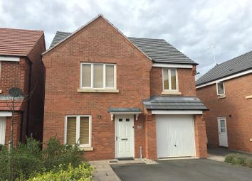 Thumbnail 4 bed detached house to rent in Cheshire Close, Coventry