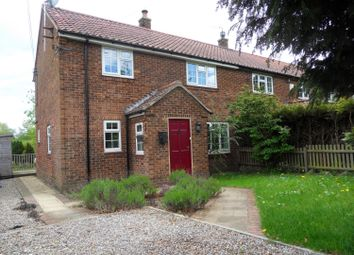 Thumbnail 3 bedroom semi-detached house to rent in Claypenny Cottages, Millfield Lane, Easingwold