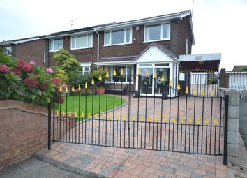 Thumbnail 3 bed semi-detached house for sale in Crackley Bank, Chesterton, Newcastle-Under-Lyme