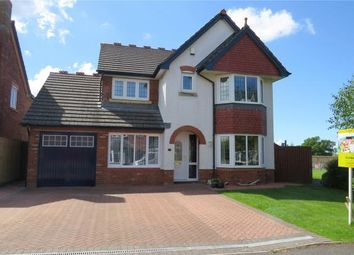 Thumbnail 4 bed detached house for sale in Scholars Green, Wigton, Cumbria