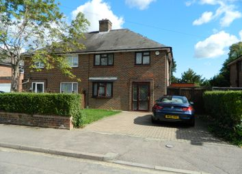Thumbnail 3 bed semi-detached house to rent in Halsey Road, Bedford