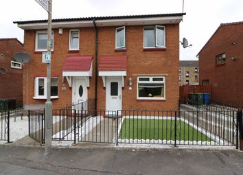Thumbnail 2 bedroom semi-detached house for sale in Kilmany Gardens, Shettleston