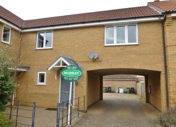 Thumbnail 2 bed maisonette to rent in Siskin Road, Uppingham, Oakham