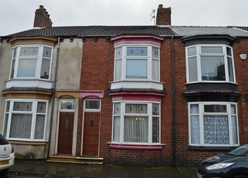 Thumbnail 3 bedroom terraced house for sale in Crescent Road, Middlesbrough