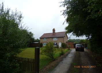Thumbnail 4 bedroom detached house to rent in Hall Road, Bedingham, Bungay
