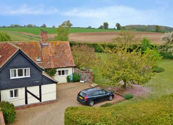 Thumbnail 4 bedroom cottage for sale in Coney Weston Road, Sapiston, Bury St. Edmunds