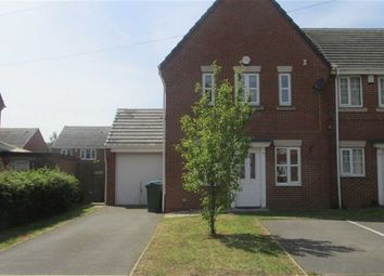 Thumbnail 3 bed end terrace house to rent in Meyrick Road, West Bromwich