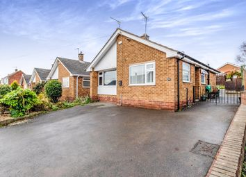 Thumbnail 2 bed detached bungalow for sale in Scargill Avenue, Newthorpe, Nottingham