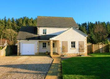 Thumbnail 4 bed detached house for sale in The Burrows, Hawick