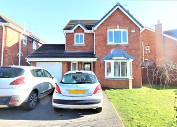 Thumbnail 3 bed detached house for sale in Arley Road, Pandy, Wrexham