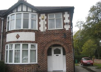 Thumbnail 5 bedroom end terrace house to rent in Brentbridge Road, Manchester