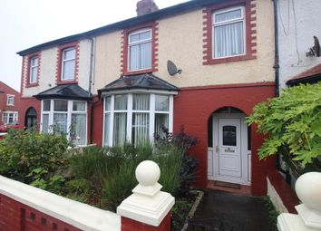 Thumbnail 3 bed terraced house for sale in Queen Victoria Road, Blackpool