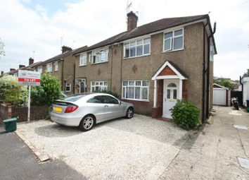 Thumbnail 3 bed semi-detached house to rent in Holly Avenue, New Haw, Addlestone