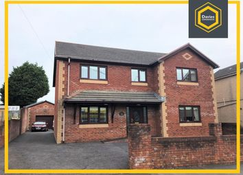 Thumbnail 4 bed detached house for sale in Llwynhendy Road, Llanelli