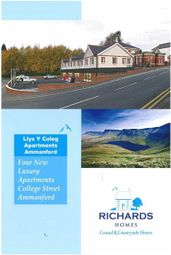 Thumbnail 2 bed flat for sale in Margaret Street, Ammanford