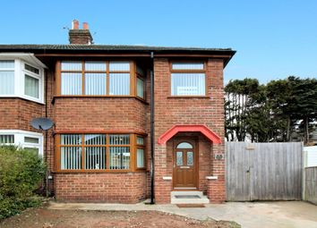 Thumbnail 3 bed semi-detached house for sale in Fernleigh Close, Blackpool