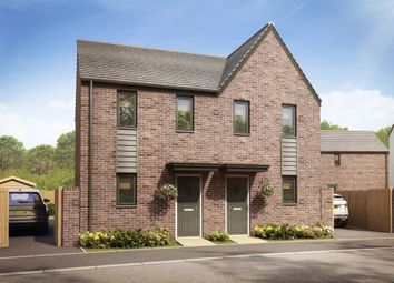 "Thumbnail 2 bed semi-detached house for sale in ""The Morden"" at Llantrisant Road, Capel Llanilltern, Cardiff"