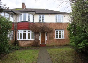Thumbnail 4 bed semi-detached house to rent in Clarence Avenue, New Malden