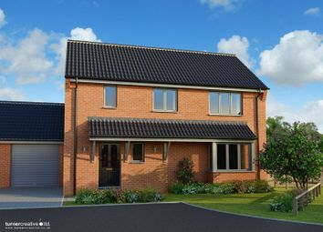 Thumbnail 3 bed detached house for sale in Back Lane, Mileham, King's Lynn