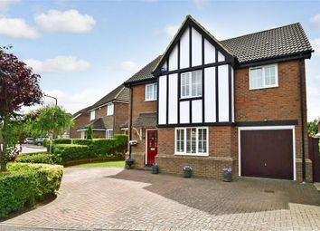 Thumbnail 4 bed detached house for sale in Primrose Walk, Paddock Wood, Tonbridge, Kent