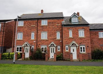 Thumbnail 3 bed town house for sale in Agincourt Road, Lichfield