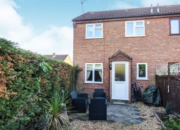 Thumbnail 1 bed end terrace house for sale in John Davis Way, Watlington, King's Lynn