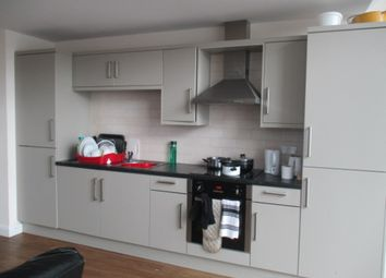 Thumbnail 3 bed flat to rent in Beck Street, Nottingham