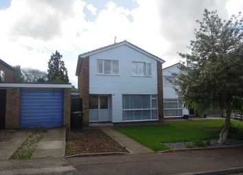 Thumbnail 3 bed detached house to rent in Dryden Crescent, Stevenage