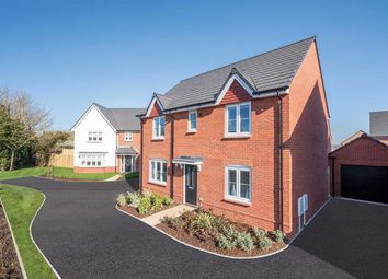 "Thumbnail 4 bed detached house for sale in ""The Leverton"" at Moormead Road, Wroughton, Swindon"