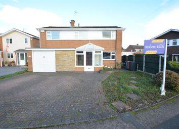 Thumbnail 4 bed detached house for sale in Belmont Drive, Borrowash, Derby