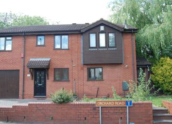 Thumbnail 2 bed semi-detached house for sale in Orchard Road, Willenhall, Wolverhampton