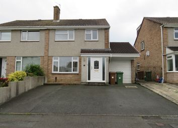 Thumbnail 3 bed semi-detached house for sale in Andurn Close, Plymstock, Plymouth