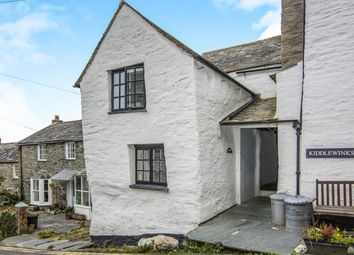 Thumbnail 3 bedroom end terrace house for sale in Fore Street, Boscastle, Cornwall