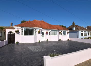 Thumbnail 4 bed bungalow for sale in Western Road, Lancing, West Sussex