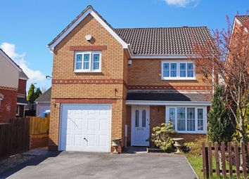 Thumbnail 4 bed detached house for sale in Cae Melyn, Hengoed