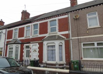 Thumbnail 3 bedroom terraced house for sale in Pomeroy Street, Cardiff