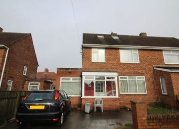 Thumbnail 3 bed semi-detached house for sale in Brookvale Avenue, Kenton, Newcastle Upon Tyne